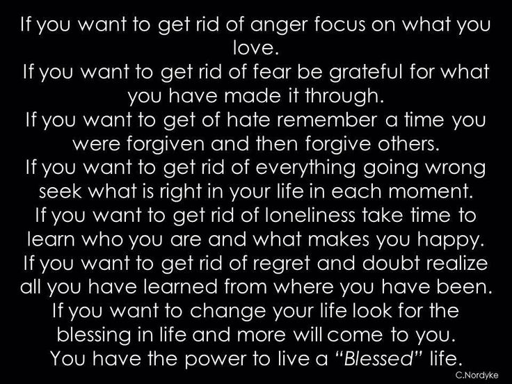 How To Get Rid Of Sadness And Anger