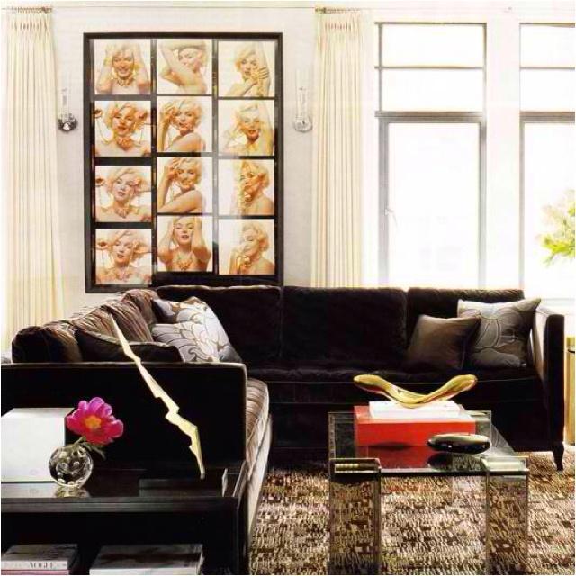 marilyn monroe themed living room everything dream house