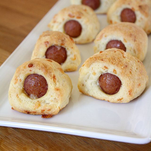 Make-Ahead Cheesy Pigs in a Blanket by Tracey's Culinary Adventures ...