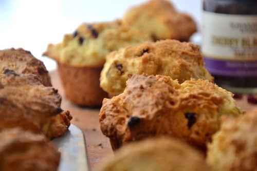 Gluten-Free Orange Cranberry Oatmeal Muffins via @The Healthy Apple ...