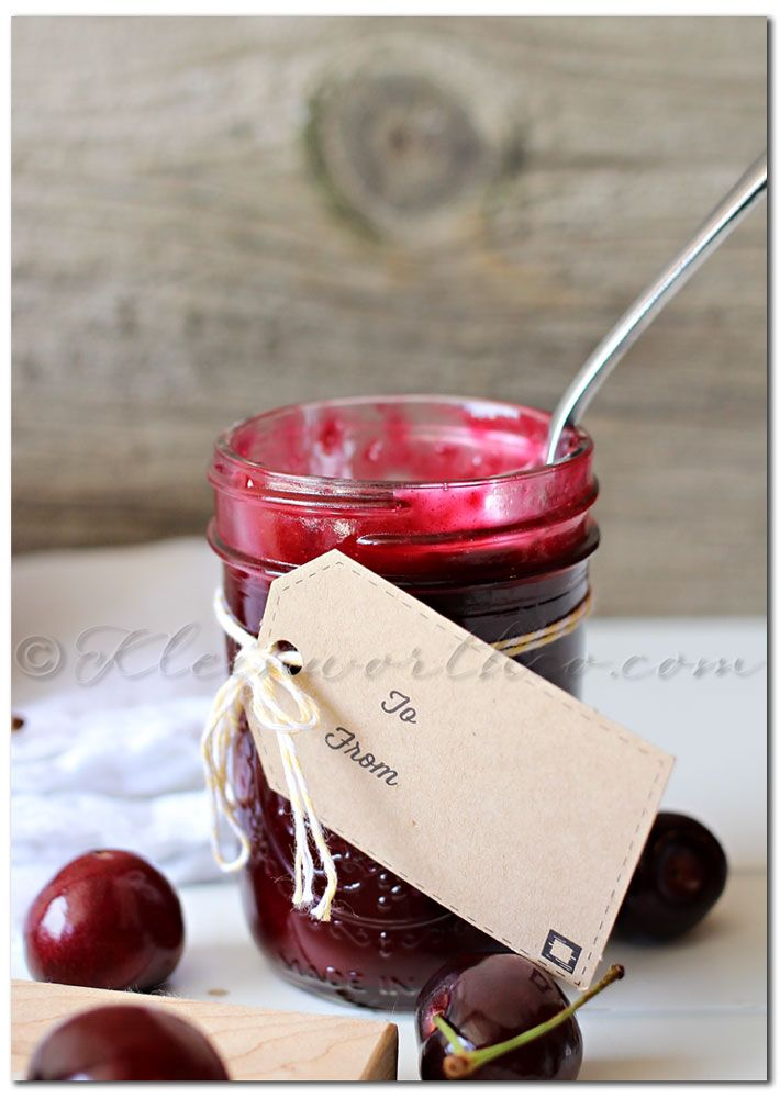Homemade Cherry Pie Filling - Kleinworth & Co - sub gluccie and ...