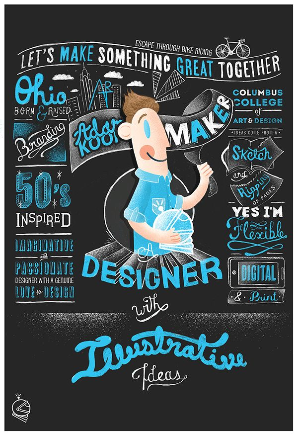 25 Examples of Creative Graphic Design Resumes - oukasinfo