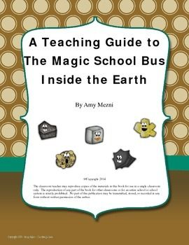 This is my unit for The Magic School Bus Inside the Earth. These units are ready to print and use! It includes vocabulary, science questions from the reading, an experiment, and a final project based learning activity.