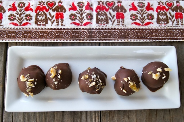 Nutella Truffles With Frangelico Recipe — Dishmaps