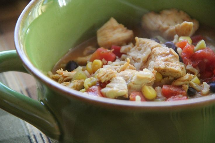 Chicken Fajita Soup | Soups | Pinterest