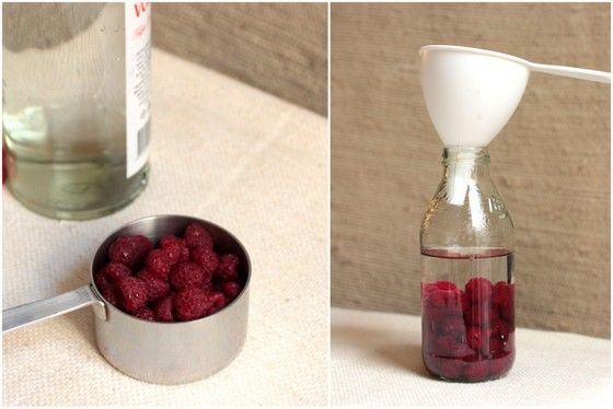 Homemade Raspberry Liqueur | Vintage Kitchen Notes - scroll down cake ...