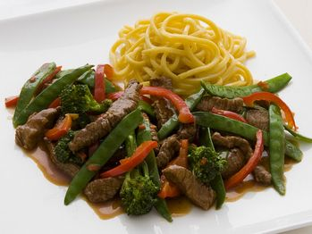 chinese chile beef stir fry: soy sauce, rice vinegar, Chinese five ...