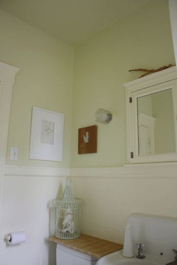 Painting bathroom ceiling same color as walls for Bathroom ceiling color