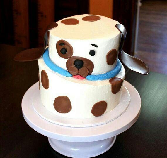 Puppy cake j bday cake ideas Pinterest
