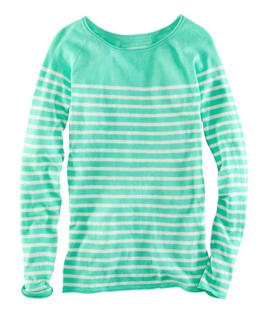 H & M long sleeve striped top