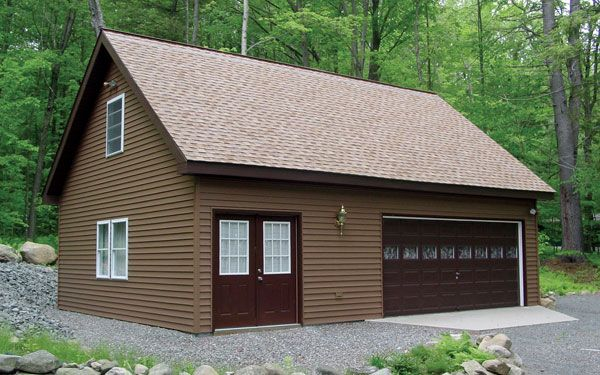 Detached garage with living space i will build my own for Garage plans with living space on top