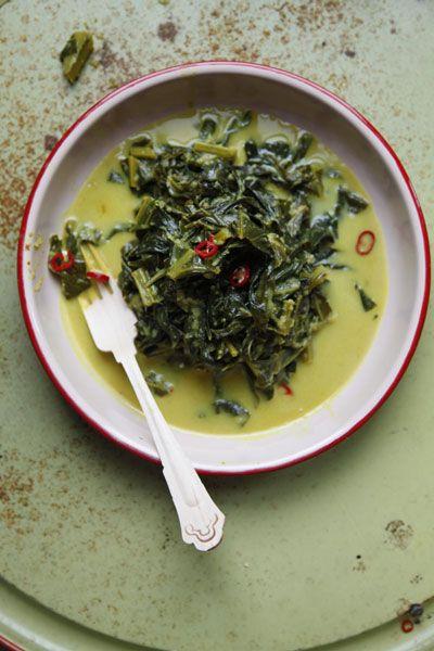 Gulai Sayur Indonesian Collard Greens Curry