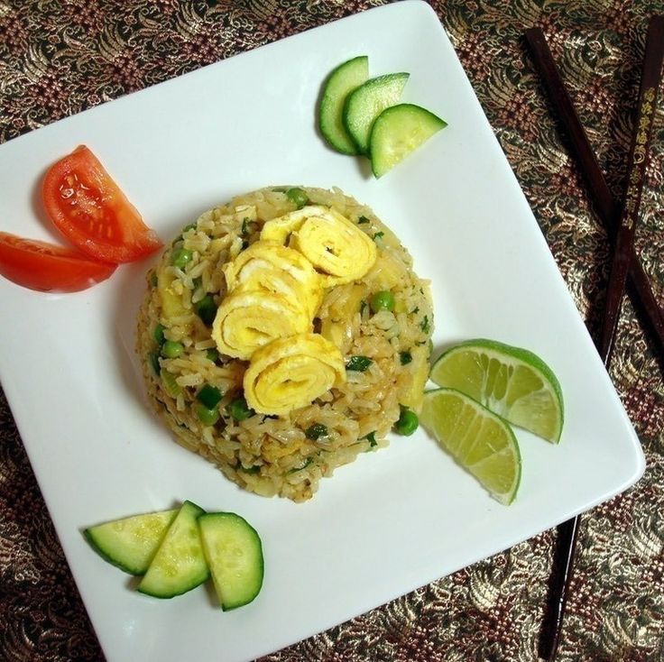 Classic Thai Fried Rice | Lao/Asian food | Pinterest
