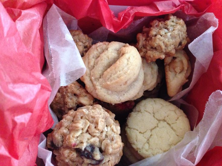 ... cookies, chocolate oatmeal, cranberry white chocolate and cream cheese