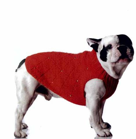 Knitting Patterns For Bulldog Sweaters : FRENCH BULLDOG SWEATER CROCHET PATTERN CROCHET