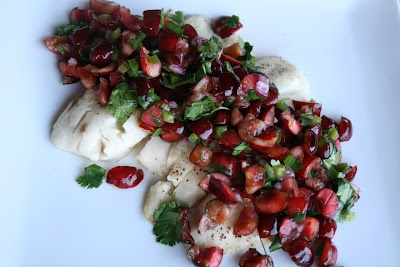 Baked Tilapia with Cherry Salsa | We All Know How I Love Food | Pinte ...