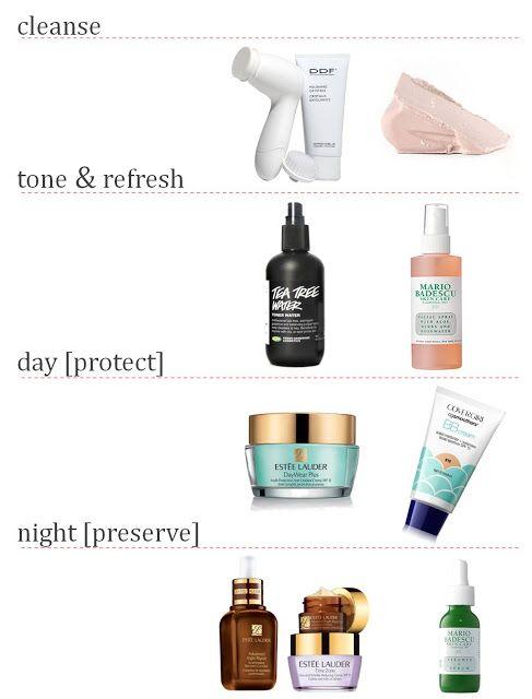 skin care routine oily acne prone problematic