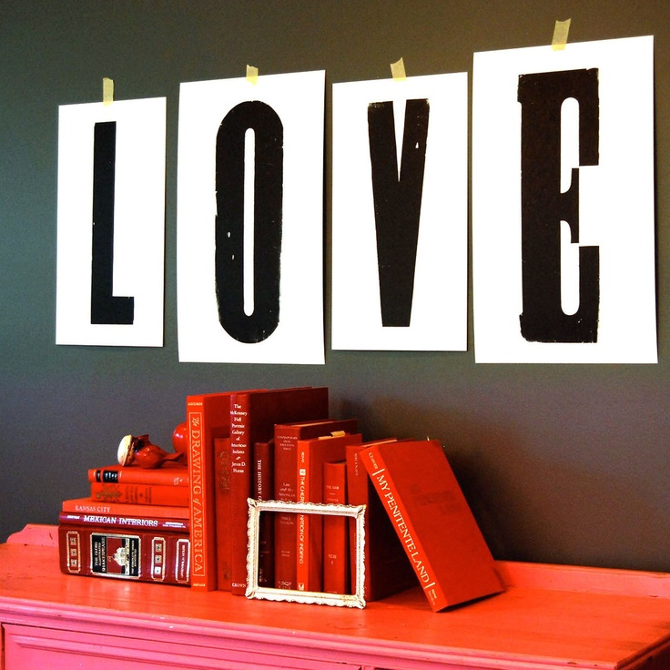 Love Letters Print Set by Roll & Tumble press