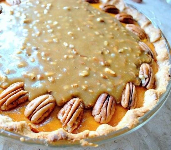 pumpkin praline pie | Pie Recipes | Pinterest