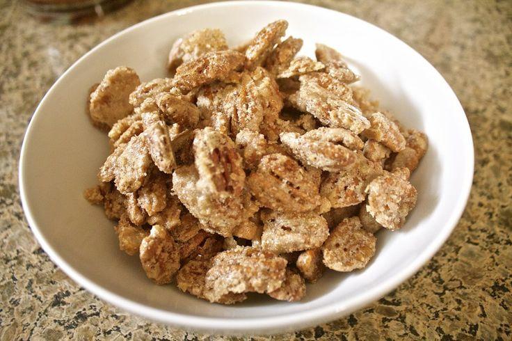 Eat Well Nuts! Sugar-Coated Pecans! | Frame Dance Blog | Pinterest