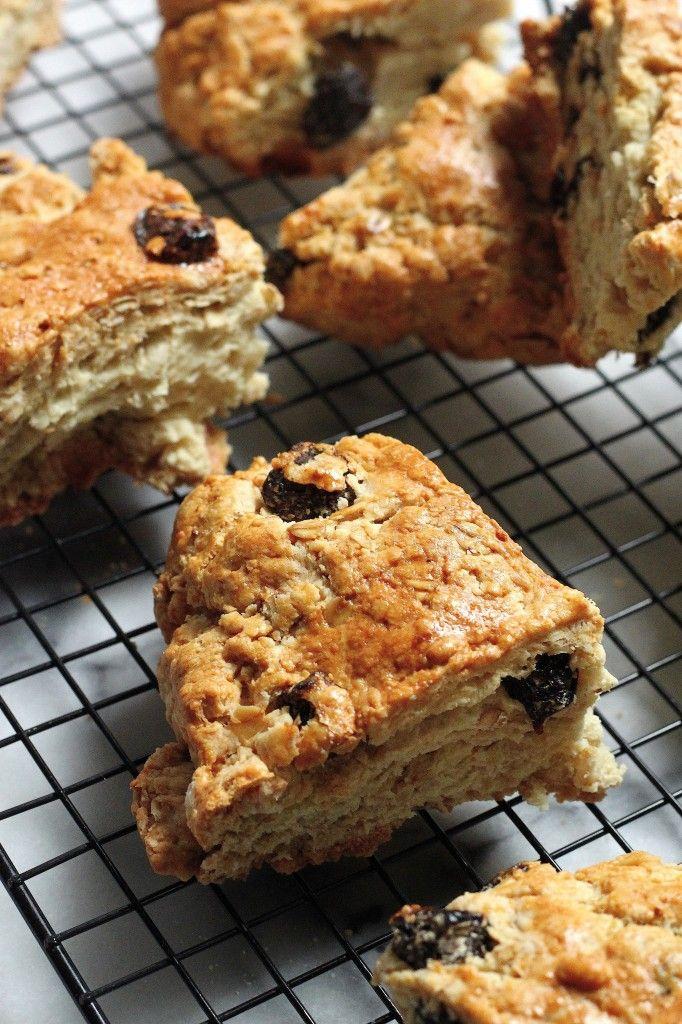 Irish Soda Bread Scones with Honey Cinnamon Butter | Baker by Nature