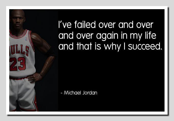 Michael Jordan Failure...