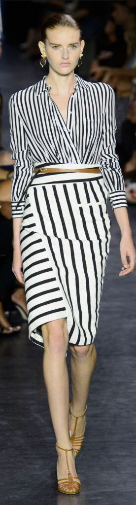 Altuzarra 2015 - great material and idea for blouse and skirt