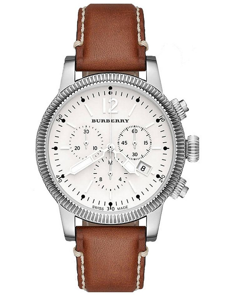burberry womens brown leather
