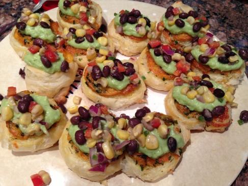 Southwestern Bruschetta Bites | Wifey's Kitchen Food Blog | Pinterest