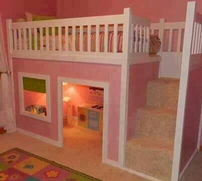 Super Cool Beds : SUPER COOL BUNK BED  My dream house  Pinterest