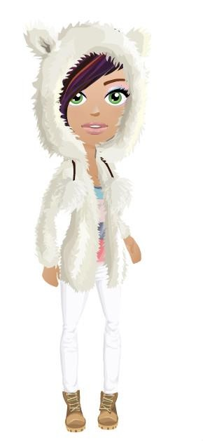 teddy bear hoodie | mall world looks | Pinterest