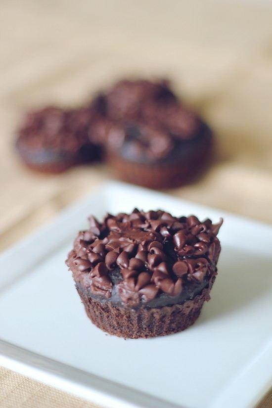 No Sugar, Greek Yogurt Chocolate Muffins | FOOD- muffins | Pinterest