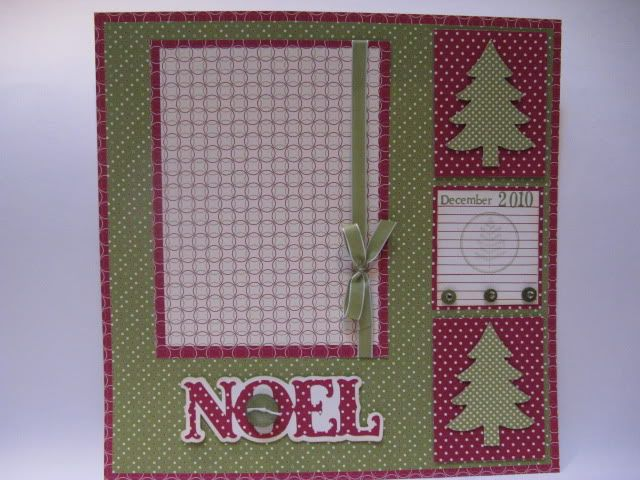 Simple christmas scrapbook layout scrapbook and cards pinterest