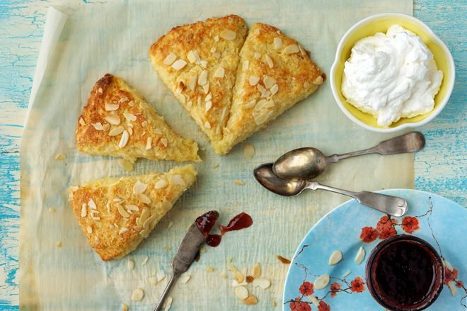 Orange Almond Scones | Favorite Recipes | Pinterest