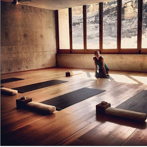 Studio Floors Beautiful Awakening Yoga Studio Pinterest