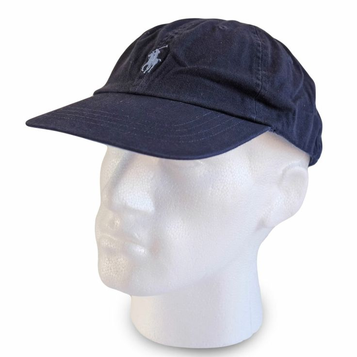 polo ralph baseball cap hat navy blue colour