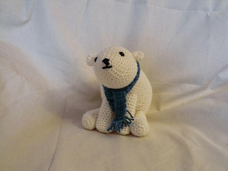 Amigurumi polar bear Amigirumi- Zoo Pinterest
