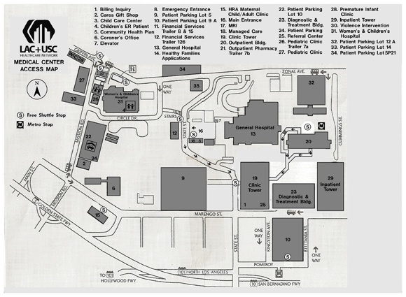 Image Result For Map Of Usc