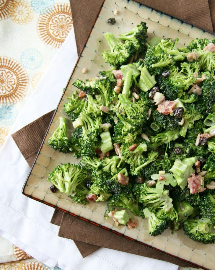 broccoli salad1 | quick and dirty dins | Pinterest