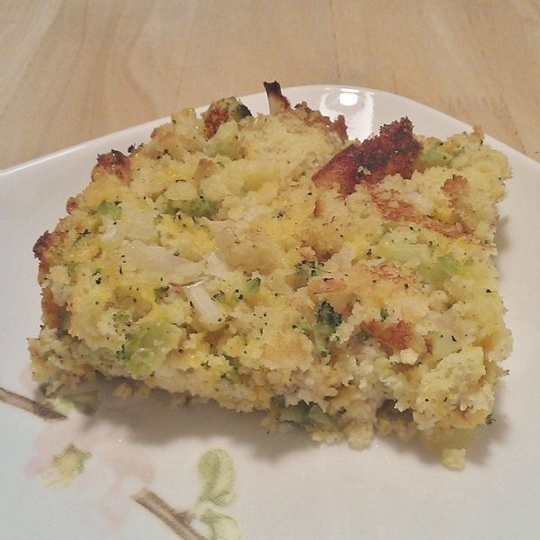 broccoli-cheddar cornbread dressing | Fun Recipes to Try | Pinterest