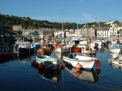 Mevagissey, South Cornwall Coast, UK
