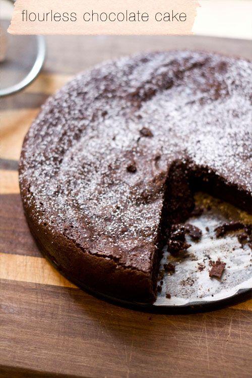 Flourless Chocolate Cake | Desserts | Pinterest