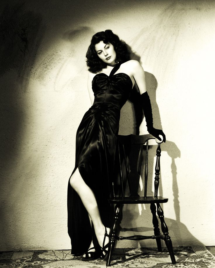 "Ava Gardner in ""The Killers"" 1946 | Beautiful People ... Ava Gardner The Killers Dress"