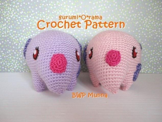 amigurumi crochet pattern BWP Munna PDF guide Instant Download