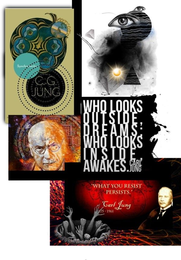 """Carl Jung- Awaken"" by ccr1 on Polyvore"