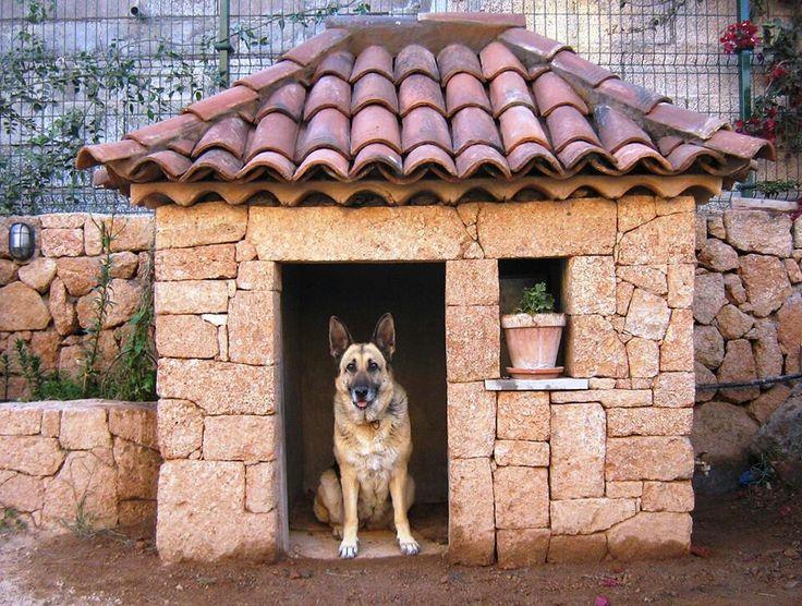 Fancy Tuscan Dog house  Dog Houses  Pinterest