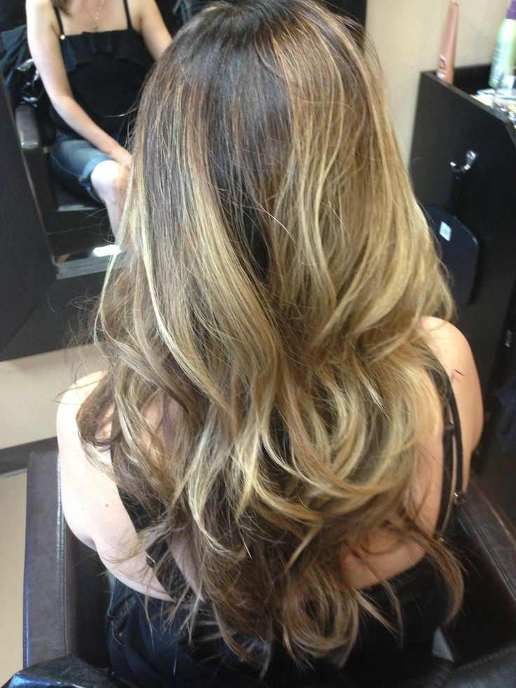 Balayage Technique Ombre Hair - newhairstylesformen2014.com
