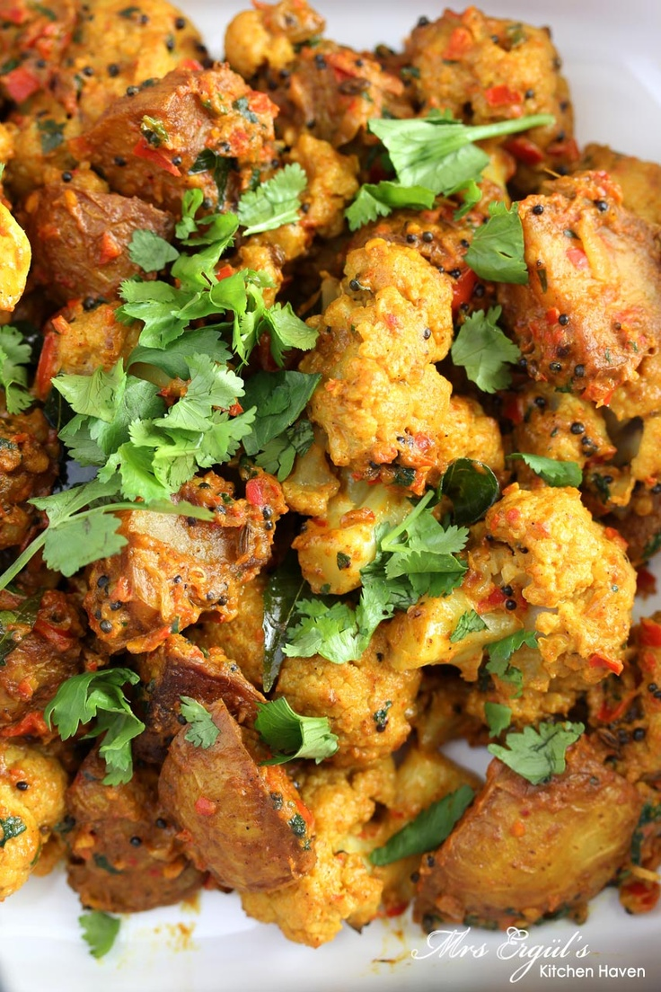 Aloo Gobi - Leave out the aloo (potatoes) for Dukan.