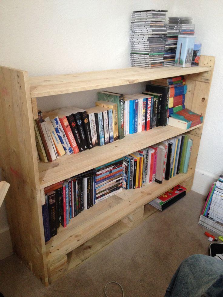 Diy shelves made from pallets furniture pinterest for Diy shelves pinterest