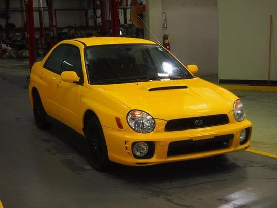2003 subaru impreza yellow fog lights
